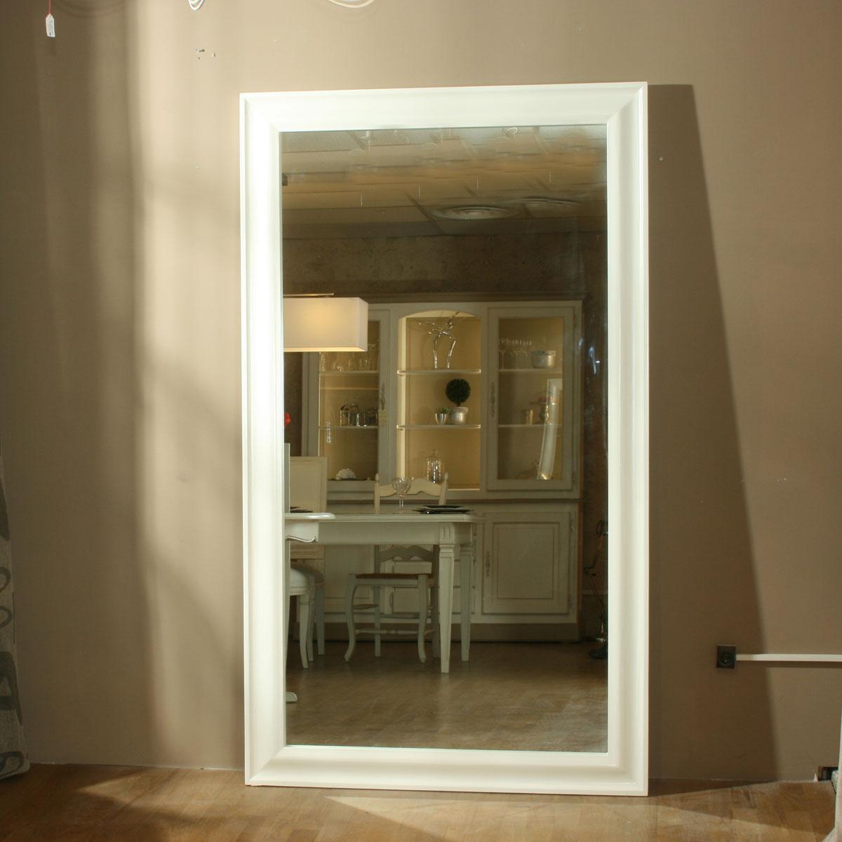 Miroir monaco ref t81 l 39 atelier du moulin de provence - Miroir autocollant sur mesure ...