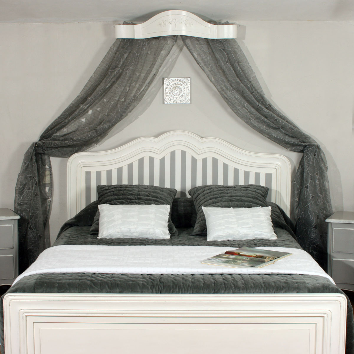 lit galb ref t154 l 39 atelier du moulin de provence. Black Bedroom Furniture Sets. Home Design Ideas