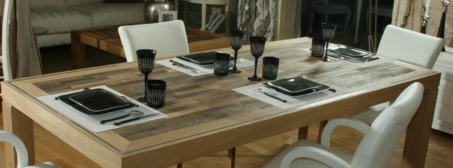 Tables de salle manger et de cuisine l 39 atelier du for Meubles 4 moulins