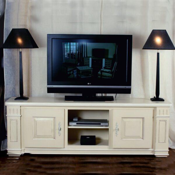 Meuble TV Gourdon 2 portes ------ Ref: T147
