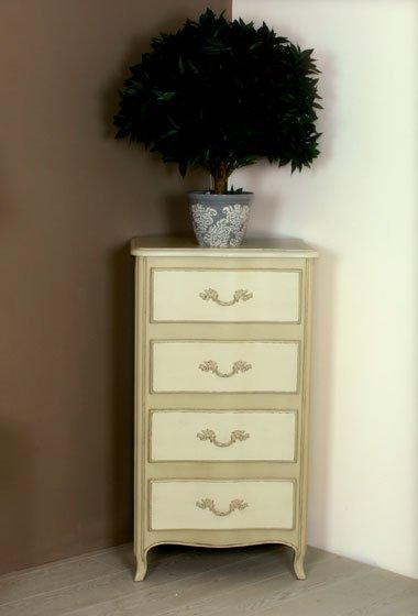 Table de chevet Arbalète 4 tiroirs ------ Ref:T123