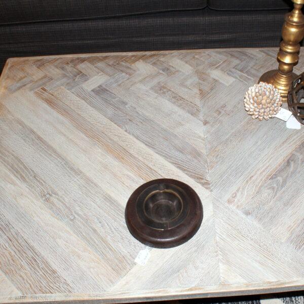 Table basse plateau chêne. _______ réf: T212