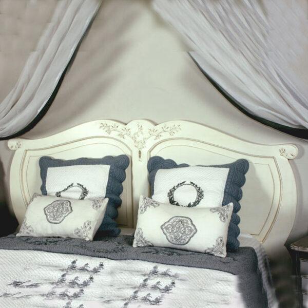 Tête de lit olivier pour literie 140 à 160______ Ref : T11