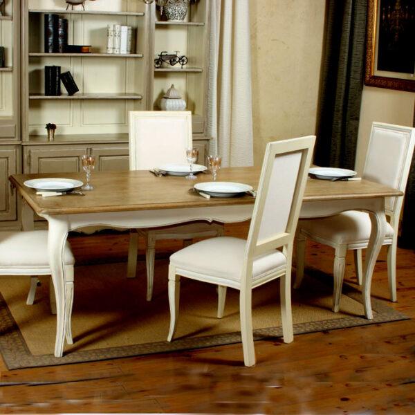 Table repas plateau chêne----------Ref:T170