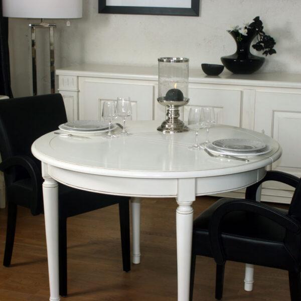 Table repas pieds tournés Ref:T56