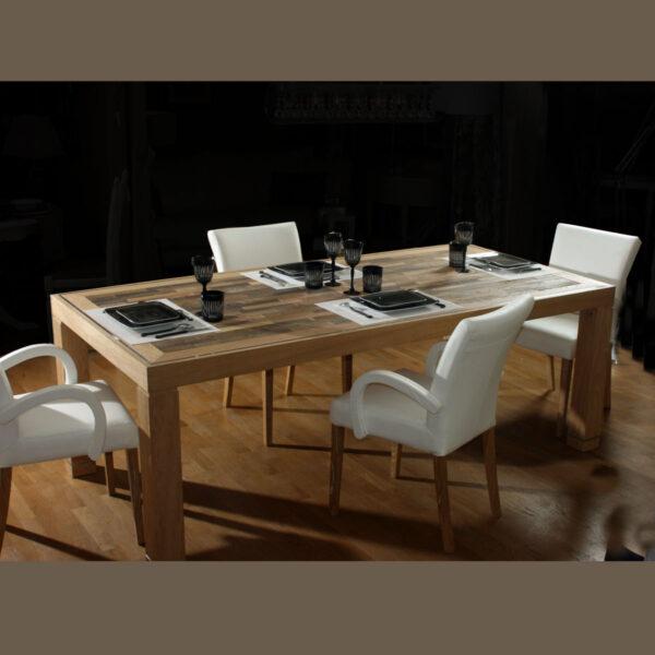 TABLE REPAS LOURMARIN - Ref : T70